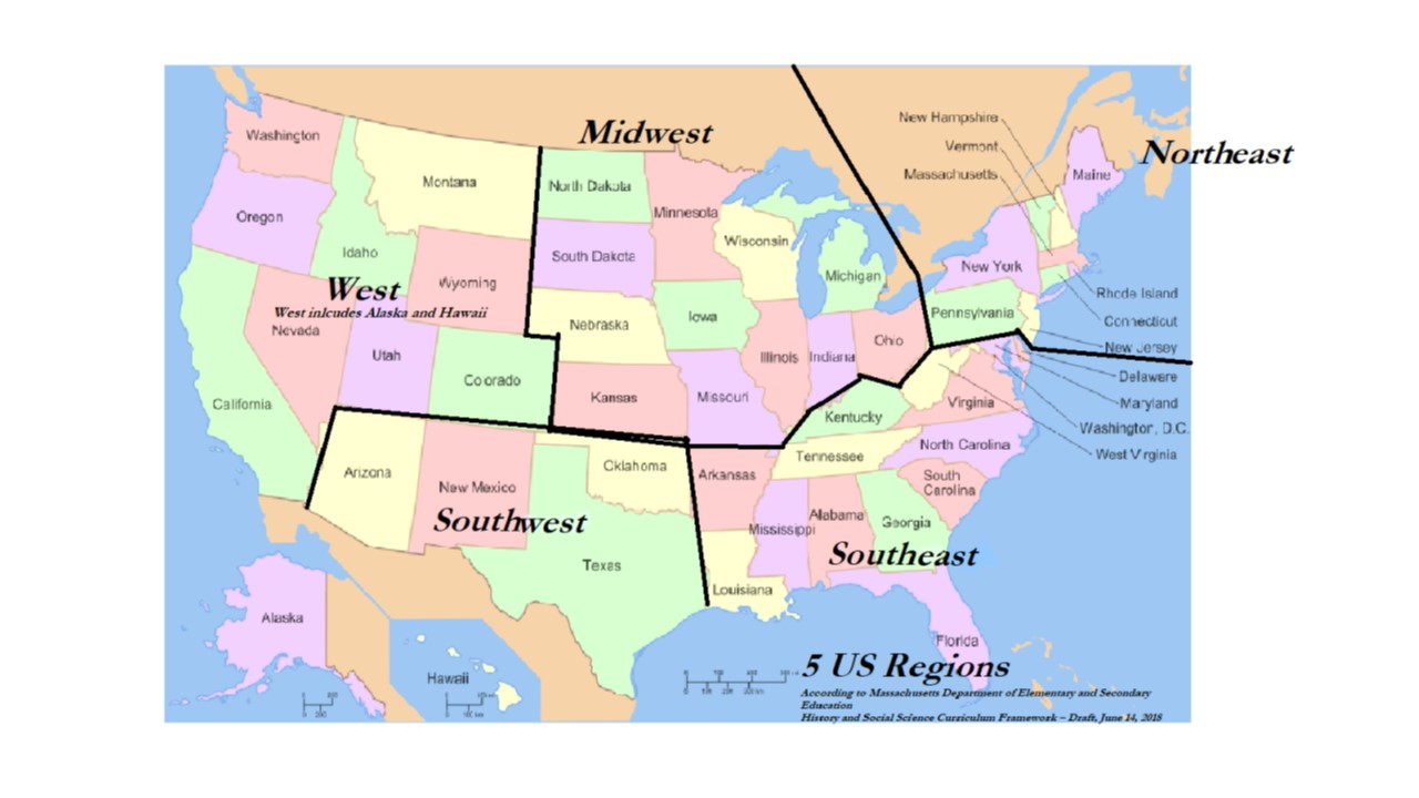 U.S. Regions PPT Project - MS. JORDAN\'S DIGITAL CLASSROOM